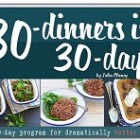 30 Dinners in 30 Days